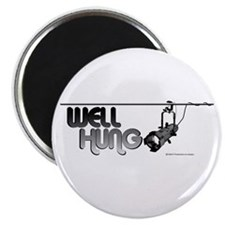 "Well Hung 2.25"" Magnet (100 pack)"