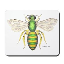 Metallic Bee Mousepad
