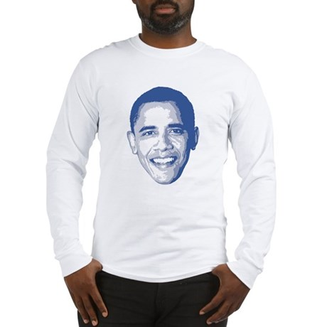 Obama Face Long Sleeve T-Shirt