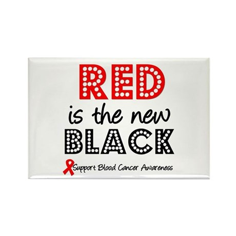 RedIsTheNewBlack Rectangle Magnet (10 pack)