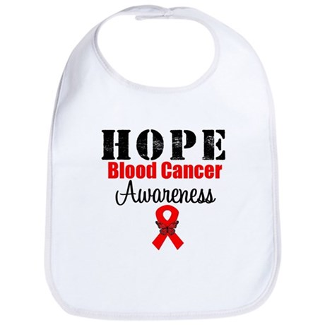 Blood Cancer Hope Bib