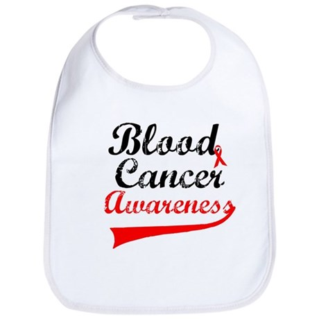 Blood Cancer Grunge Bib