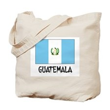 Guatemala Flag Tote Bag