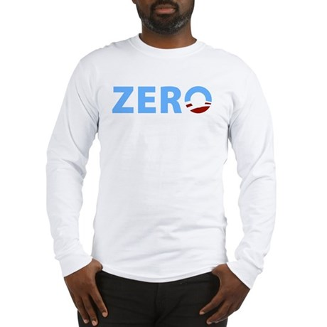 Anti Obama ZERO Long Sleeve T-Shirt