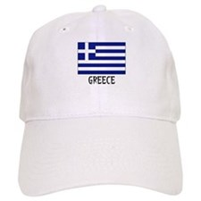 Greece Flag Baseball Cap