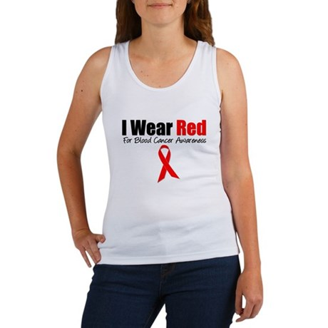 IWearRed Blood Cancer Women's Tank Top
