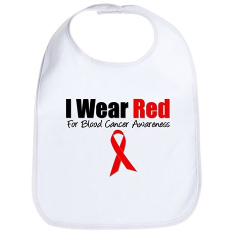 IWearRed Blood Cancer Bib