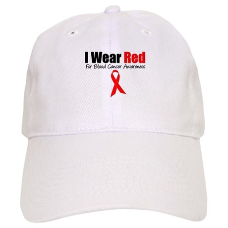 IWearRed Blood Cancer Cap