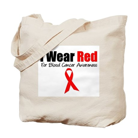IWearRed Blood Cancer Tote Bag