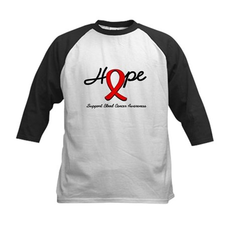 Blood Cancer Hope Kids Baseball Jersey