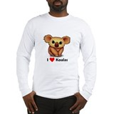 I love Koalas Long Sleeve T-Shirt