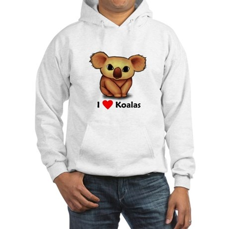 I love Koalas Hooded Sweatshirt