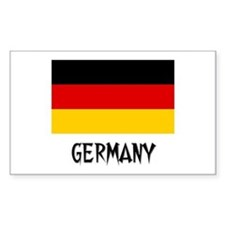Germany Flag Rectangle Decal