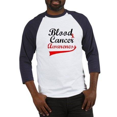 Blood Cancer Grunge Baseball Jersey