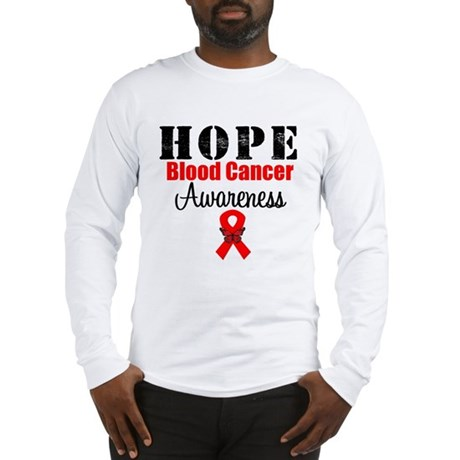 Blood Cancer Hope Long Sleeve T-Shirt