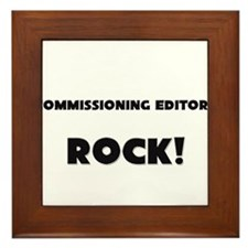 Commissioning Editors ROCK Framed Tile