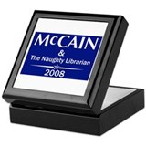 McCain and the Naughty Librar Keepsake Box