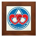 LOVEMATISM Framed Tile