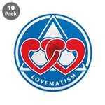 "LOVEMATISM 3.5"" Button (10 pack)"