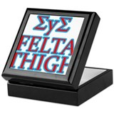 Cute Frat Keepsake Box