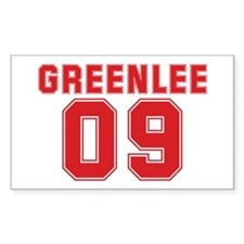 GREENLEE 09 Rectangle Decal
