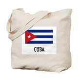 Cuba Flag Tote Bag