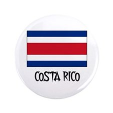 "Costa Rico Flag 3.5"" Button"