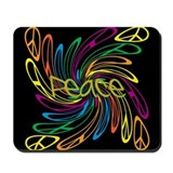 Peace Signs Mousepad