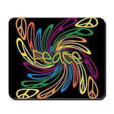 Peace Signs Mousepad