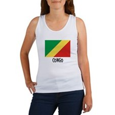 Congo Flag Women's Tank Top