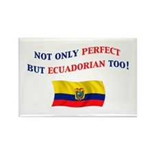 Perfect Ecuadorian 2 Rectangle Magnet (10 pack)
