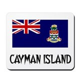 Cayman Island Flag Mousepad