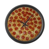 Extra Large Pizza Wall Clock