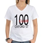 The 100 Club Oxford ST Women's V-Neck T-Shirt