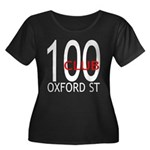 The 100 Club Oxford ST Women's Plus Size Scoop Nec