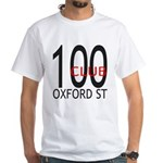 The 100 Club Oxford ST White T-Shirt