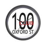 The 100 Club Oxford ST Wall Clock