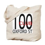The 100 Club Oxford ST Tote Bag