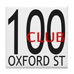The 100 Club Oxford ST Tile Coaster