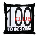 The 100 Club Oxford ST Throw Pillow