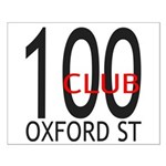 The 100 Club Oxford ST Small Poster