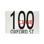 The 100 Club Oxford ST Rectangle Magnet