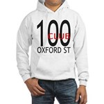 The 100 Club Oxford ST Hooded Sweatshirt
