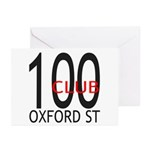 The 100 Club Oxford ST Greeting Cards (Pk of 10)