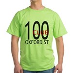 The 100 Club Oxford ST Green T-Shirt