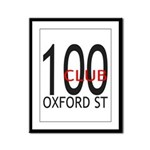 The 100 Club Oxford ST Framed Panel Print