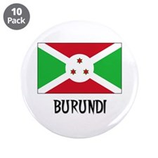 "Burundi Flag 3.5"" Button (10 pack)"