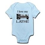 I Love My Lathe Infant Bodysuit