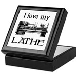 I Love My Lathe Keepsake Box