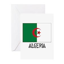 Algeria Flag Greeting Cards (Pk of 10)